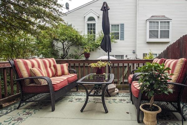 back deck outside