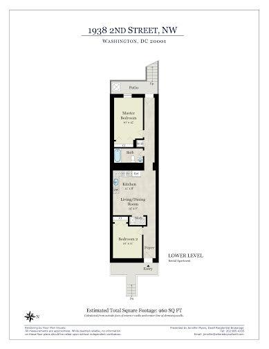 Floor Plan-Rental Unit