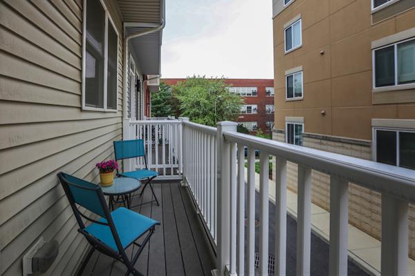 6 - Balcony off Kitchen