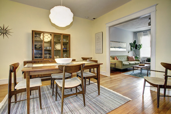 11   Dining Room W: Living Room. This Row House ...