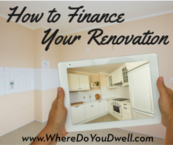 finance your renovation image