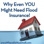 Why Even YOU Might Need Flood Insurance!