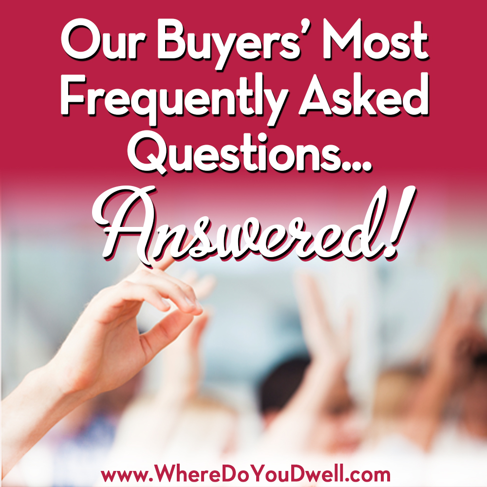 FAQ answered buyers