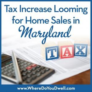 Tax increase MD