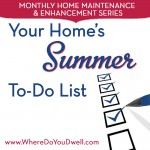 Your Home's Summer To-Do List