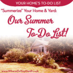 """Summerize"" Your Home and Yard"