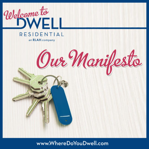 Dwell Residential Manifesto